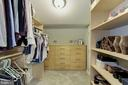 Master walk-in closet - 5912 EDSON LN, ROCKVILLE