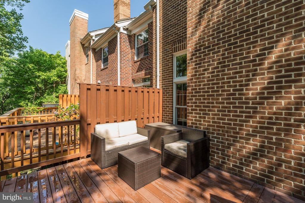 Deck - 5912 EDSON LN, ROCKVILLE