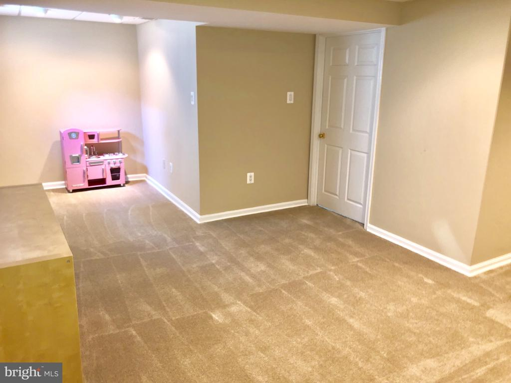 New carpeting in basement - 8515 ORDINARY WAY, ANNANDALE