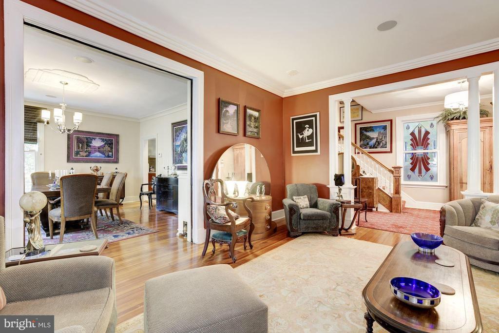 Living Room - 426 RITTENHOUSE ST NW, WASHINGTON