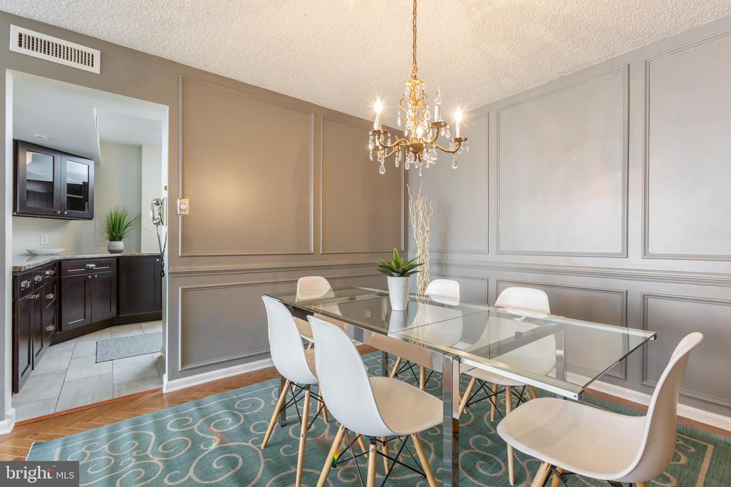 Dining room - 3800 FAIRFAX DR #705, ARLINGTON