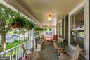 Wrap-Around Porch with Beaded Board Ceiling - 426 RITTENHOUSE ST NW, WASHINGTON