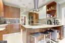 Kitchen with Gaggenau and Electrolux appliances - 426 RITTENHOUSE ST NW, WASHINGTON