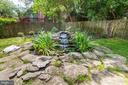 Exterior Rear Yard - Water Feature - 426 RITTENHOUSE ST NW, WASHINGTON
