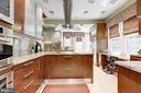 Kitchen with Scavollini cabinets - 426 RITTENHOUSE ST NW, WASHINGTON