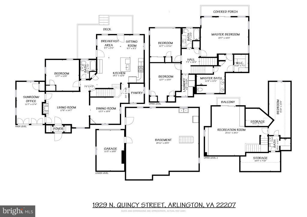 Floor Plans - 1929 N QUINCY ST, ARLINGTON