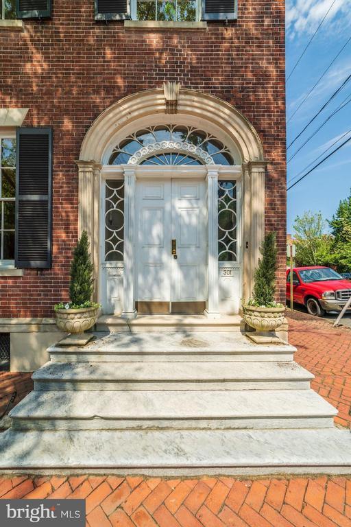 Front Door - 301 S SAINT ASAPH ST, ALEXANDRIA
