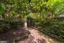 Garden View to Front Parking - 301 S SAINT ASAPH ST, ALEXANDRIA