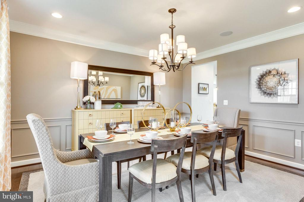 formal Dining Room - 8705 FORMATION DR, FREDERICKSBURG