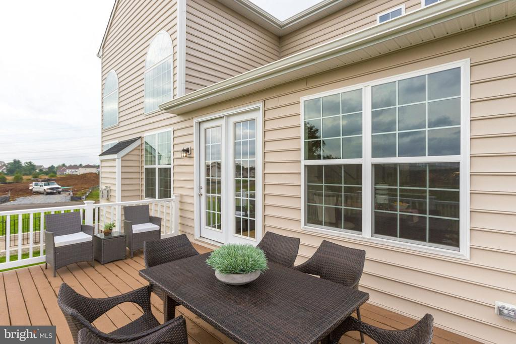 Optional rear deck - 8705 FORMATION DR, FREDERICKSBURG
