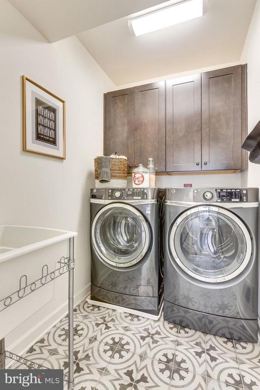 Laundry w/ opt. cabinets & sink - 8705 FORMATION DR, FREDERICKSBURG