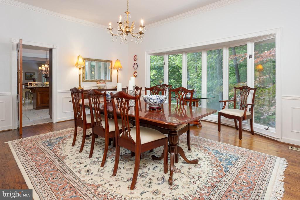 Dining Room - 8512 CATHEDRAL FOREST DR, FAIRFAX STATION
