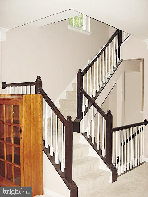 Stairs ML to UL - 13086 PARK CRESCENT CIR, HERNDON