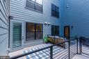 Private patio - 4339 HARRISON ST NW #4, WASHINGTON