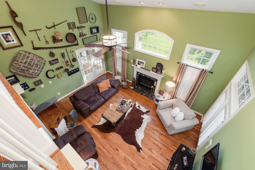 View From Catwalk - 7840 VIRGINIA OAKS DR, GAINESVILLE