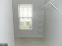 Second Walk-In Closet for Master Bedroom - 25485 FLYNN LN, CHANTILLY