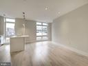 Open and spacious floor plan - 1745 N ST NW #605, WASHINGTON