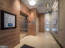 Modern Flats elevator lobby - 1745 N ST NW #605, WASHINGTON