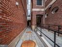 All brick walkway to the Flats - 1745 N ST NW #605, WASHINGTON