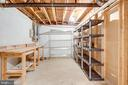 Work shop and storage! - 1435 ROSEWOOD HILL DR, VIENNA