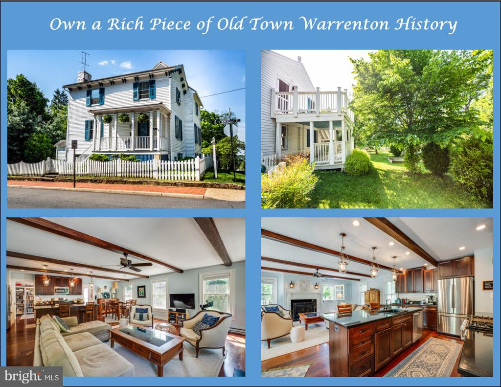 102  WINCHESTER STREET, Warrenton in FAUQUIER County, VA 20186 Home for Sale