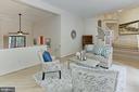 Living room - 12709 MILL GLEN CT, CLIFTON