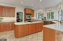 Huge kitchen - 12709 MILL GLEN CT, CLIFTON