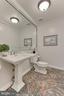 Main level bath - 12709 MILL GLEN CT, CLIFTON