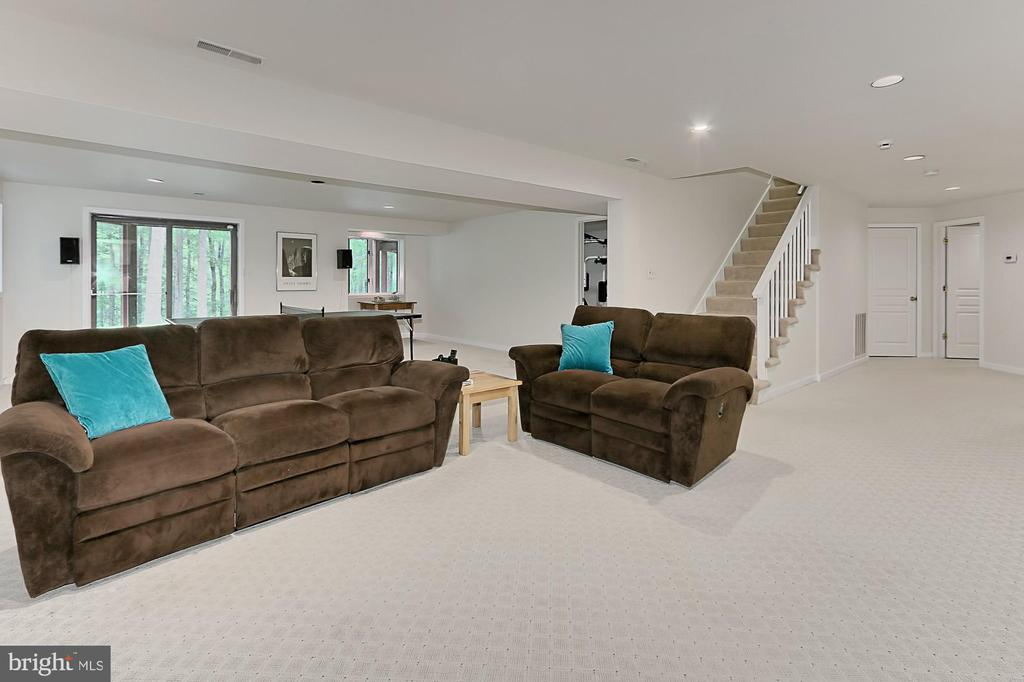 Walk out lower level - 12709 MILL GLEN CT, CLIFTON