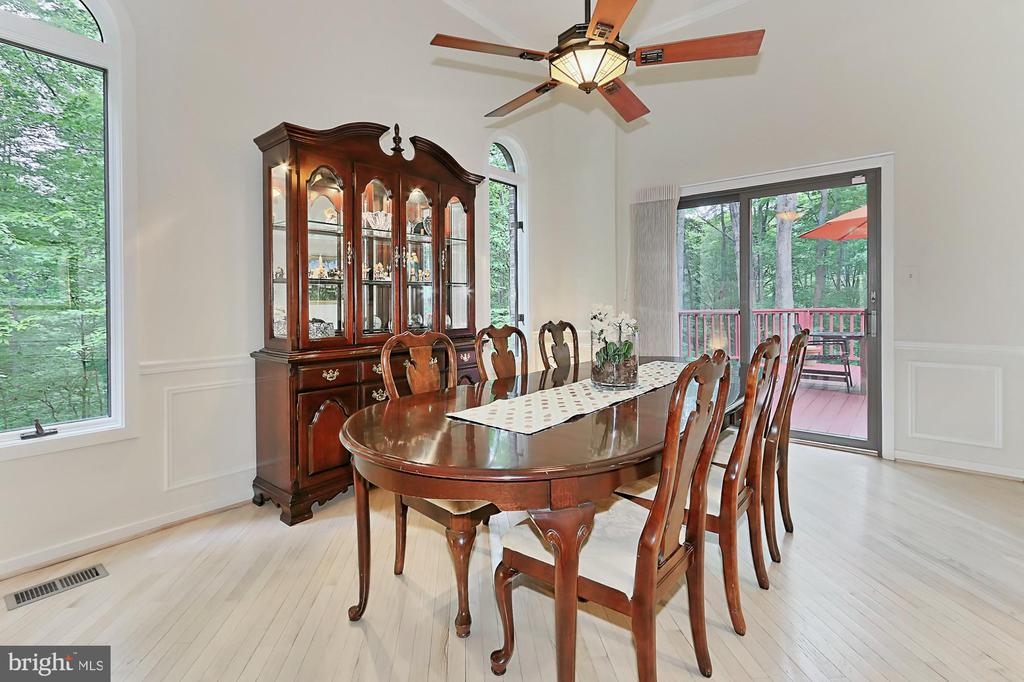 Dining Room - 12709 MILL GLEN CT, CLIFTON