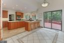 Plenty of space for kitchen table - 12709 MILL GLEN CT, CLIFTON