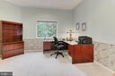 Main level library or guest suite - 12709 MILL GLEN CT, CLIFTON