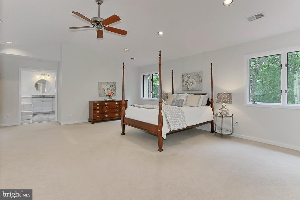Elegant master suite - 12709 MILL GLEN CT, CLIFTON