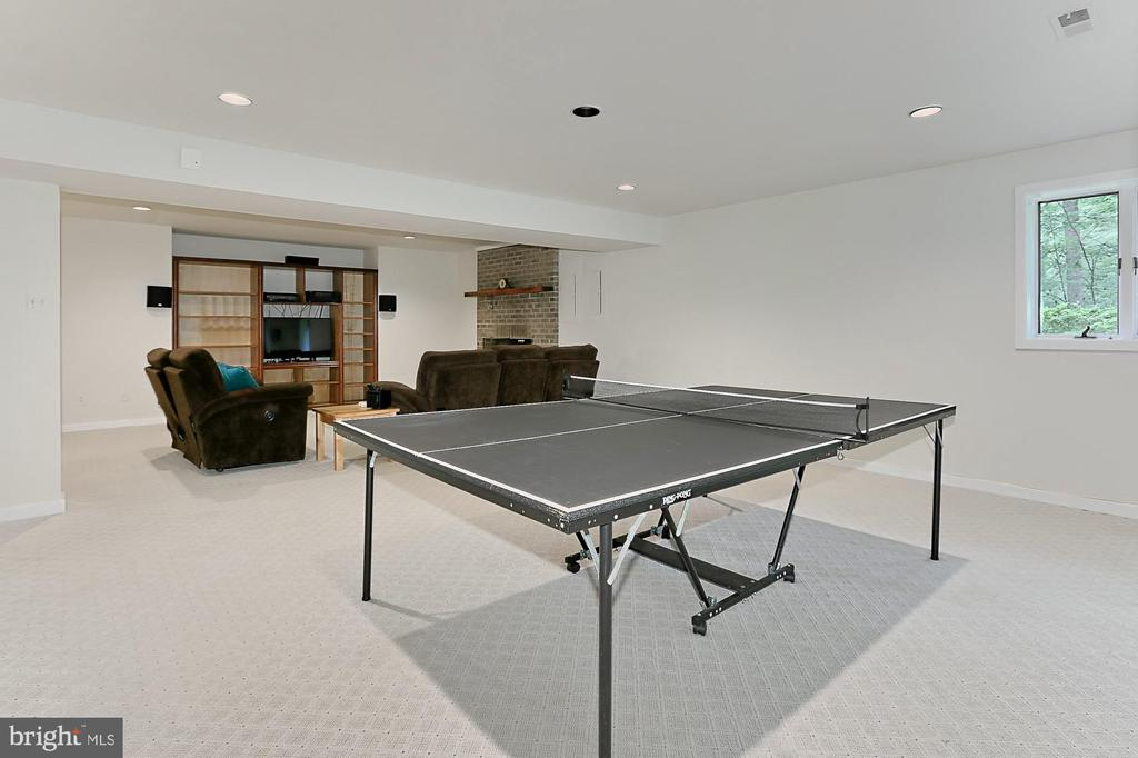 Game Room - 12709 MILL GLEN CT, CLIFTON