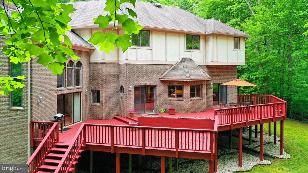 Beautiful, Peaceful backyard - 12709 MILL GLEN CT, CLIFTON