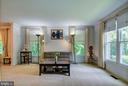 Living Room - 5608 CAVALIER WOODS LN, CLIFTON