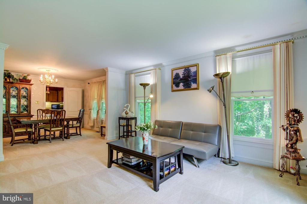 Living Room View#2 - 5608 CAVALIER WOODS LN, CLIFTON