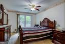 Main Level Bedroom - 5608 CAVALIER WOODS LN, CLIFTON
