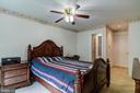 Main Level Bedroom View#2 - 5608 CAVALIER WOODS LN, CLIFTON