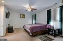 Master Bedroom - 5608 CAVALIER WOODS LN, CLIFTON