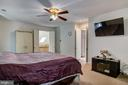 Master Bedroom View#2 - 5608 CAVALIER WOODS LN, CLIFTON