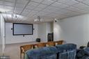 Basement Recreation Room - 5608 CAVALIER WOODS LN, CLIFTON