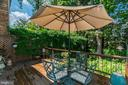 Spacious Deck - 4206 48TH PL NW, WASHINGTON