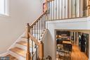 Beautiful staircase. - 20888 FOWLERS MILL CIR, ASHBURN