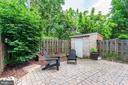 Fully fenced backyard - 2855 COORS PARK CT, FALLS CHURCH