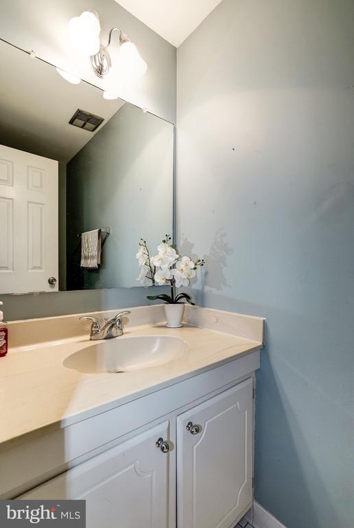 Lower level powder room - 2855 COORS PARK CT, FALLS CHURCH
