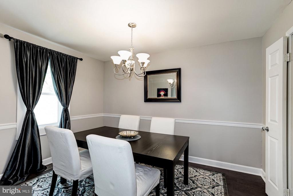 Dining room - 2855 COORS PARK CT, FALLS CHURCH