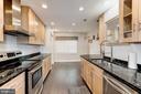 Gourmet chefs kitchen - 2855 COORS PARK CT, FALLS CHURCH