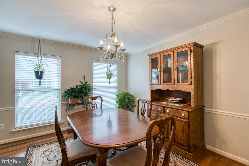 Dining Room - 6803 LAKERIDGE DR, FREDERICKSBURG