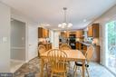 Eat-in Kitchen - 6803 LAKERIDGE DR, FREDERICKSBURG